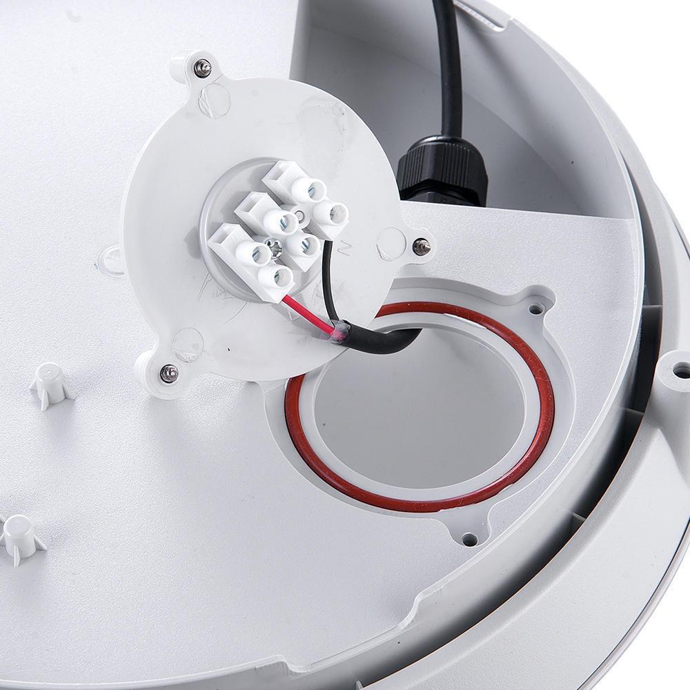 Noxion LED LED Wandlamp Pro met Sensor 3000K 13W Grijs   Vervangt 2x18W