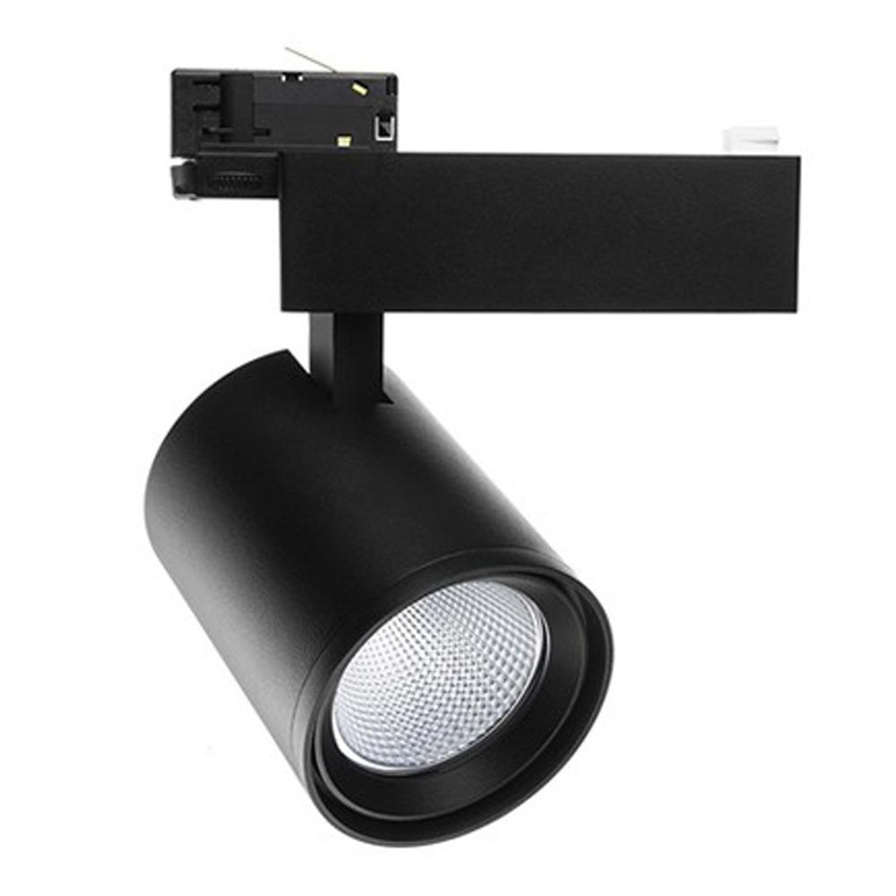 Noxion LED Railspot 3-Phase Stella 35W 930 36D Zwart | Vervangt 35 & 70W CDM