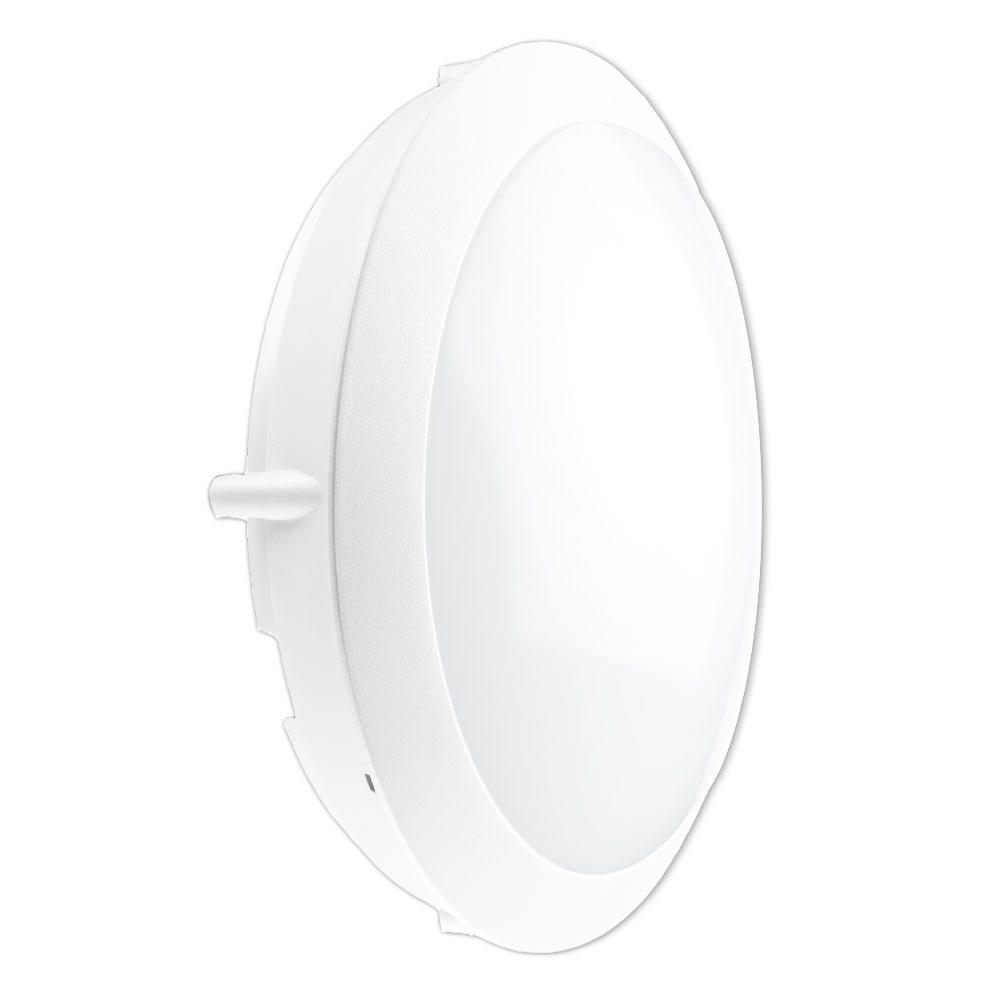 Noxion LED LED Wandlamp Pro Sensor 3000K 13W Wit   1uur - Vervangt 2x18W