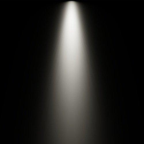 25 graden lichtbundel